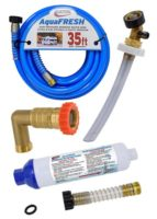 Fresh Water - Filters, Water Hose, Regulators and Secure Fill