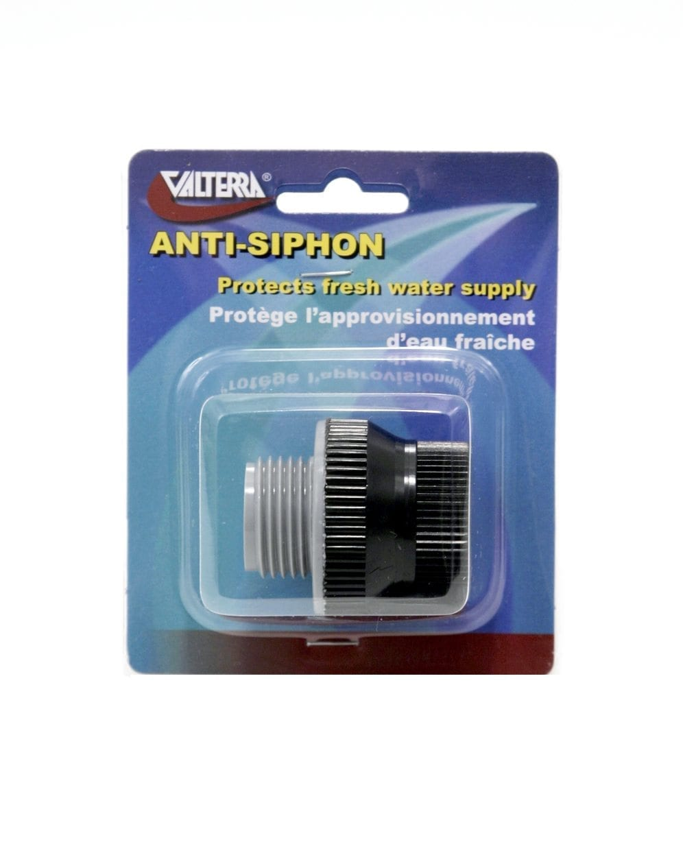 Anti Siphon Valve Removable Plastic Carded
