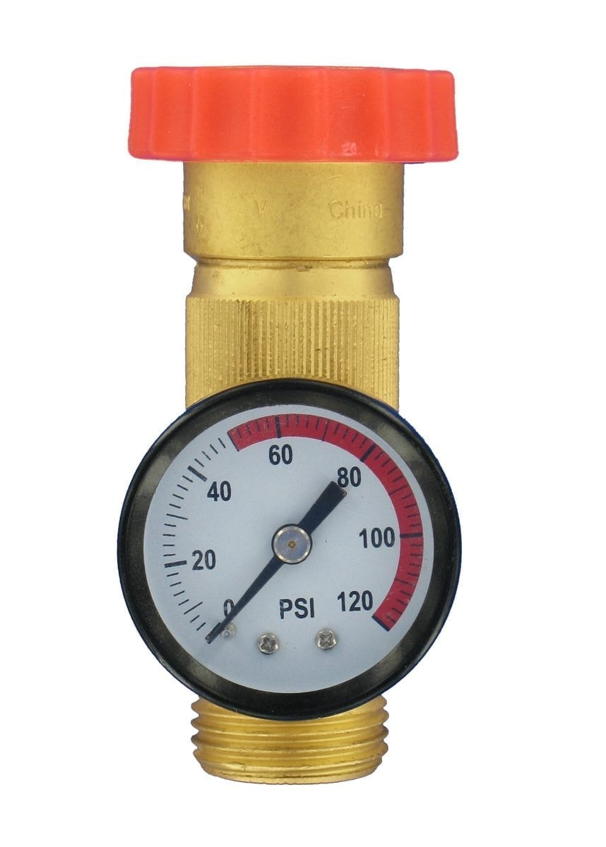 water regulator gauge combo brass lead free carded. Black Bedroom Furniture Sets. Home Design Ideas