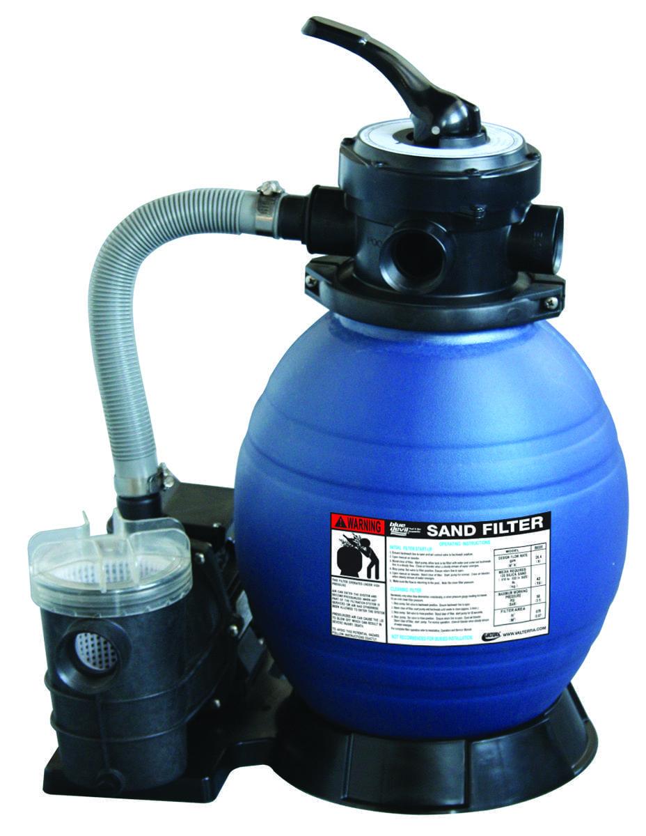 Sand filter 12 w 35 hp pump for Bauhaus sandfilterpumpe