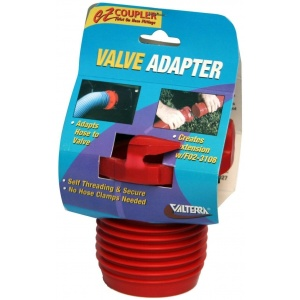EZ Coupler Valve Adapter, Red, Carded