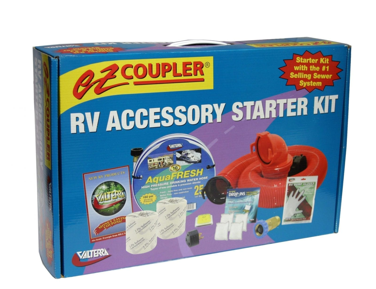 Rv Starter Kit Ez Coupler Boxed Valterra Com