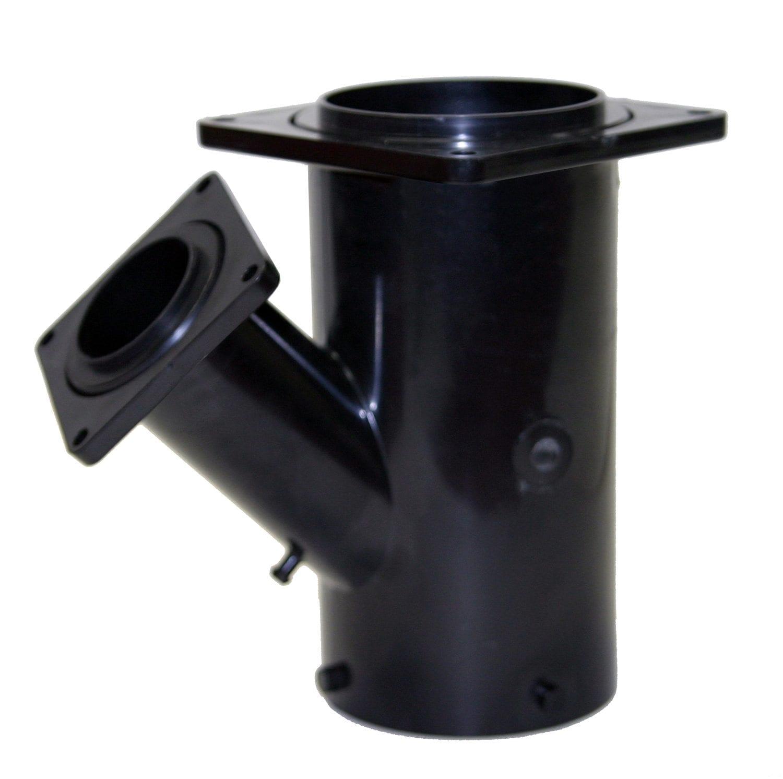 ″ wye reducing bayonet rotating flange