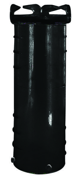 Hose Adapter, 10″, Black, Bulk