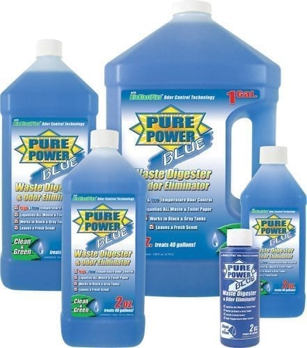 Pure Power Blue, 16 oz. Bottle