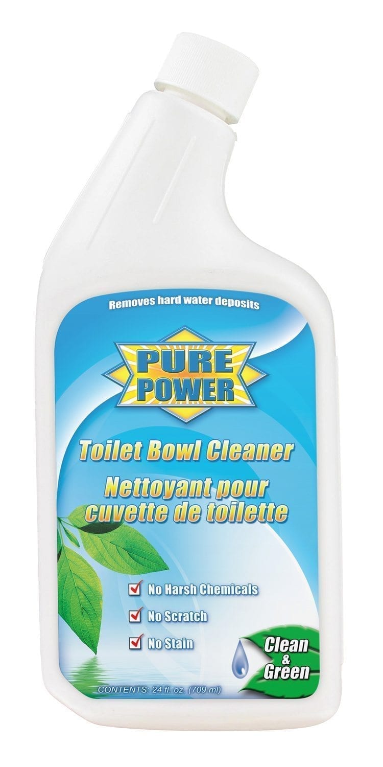 Toilet Bowl Cleaner, Pure Power, 24 oz. Bottle