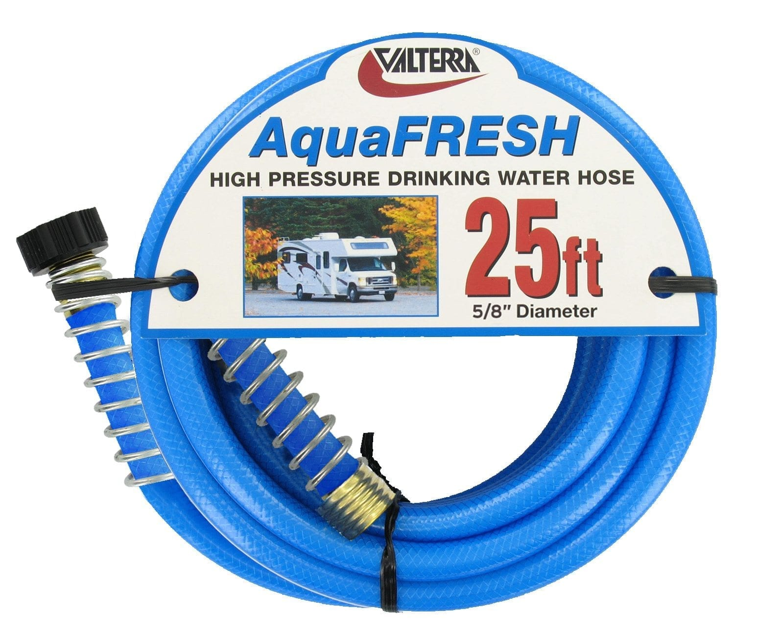 Blue RV Drinking Water Hose