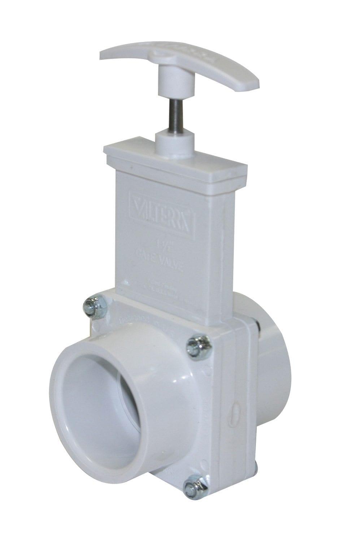 drain valve 1 1 2 hub x 1 1 2 hub white. Black Bedroom Furniture Sets. Home Design Ideas