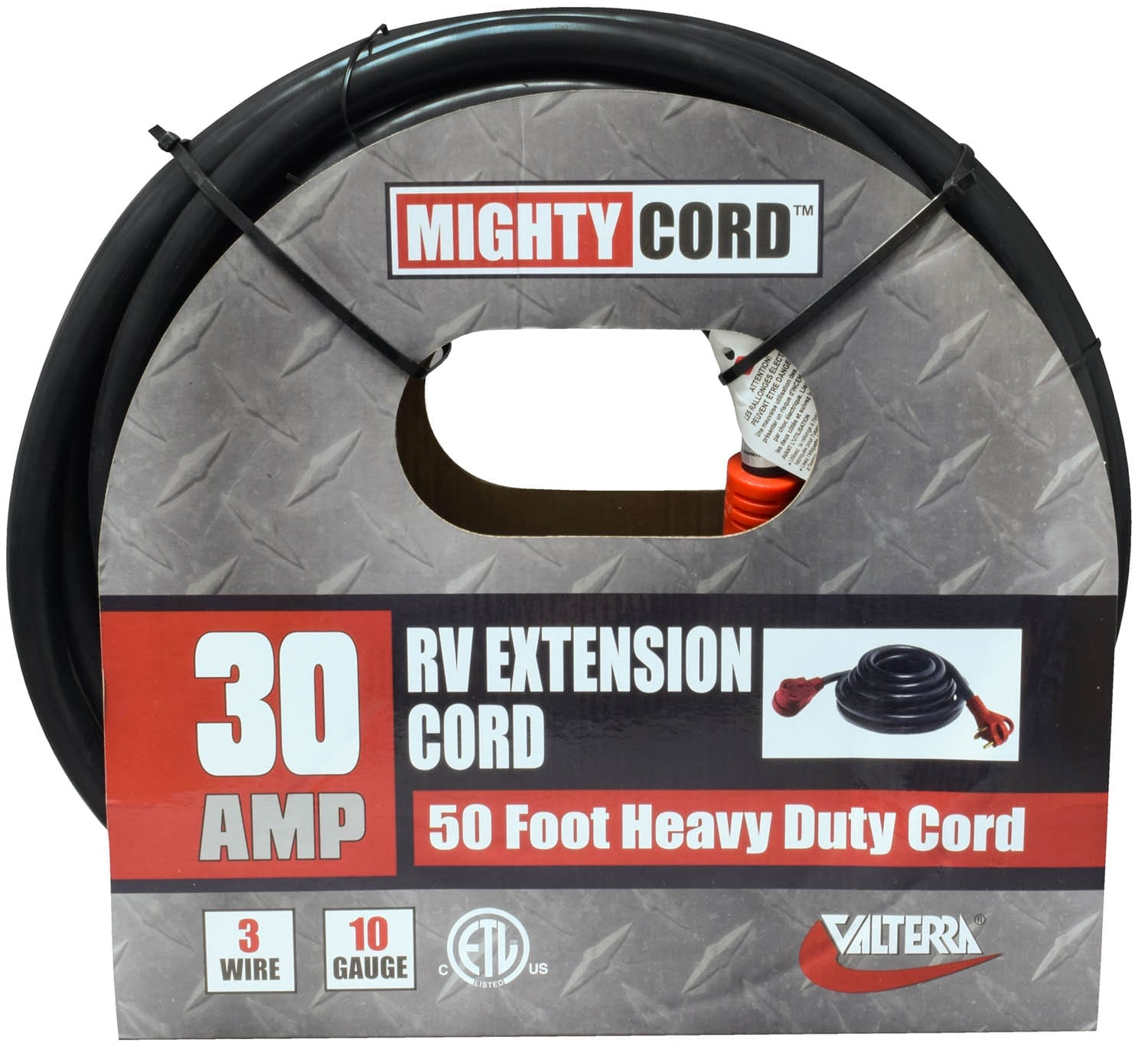 Mighty Cord 30amp Extension With Handle 50 Red Boxed Cordr Marine Electrical Parts Wiring 000
