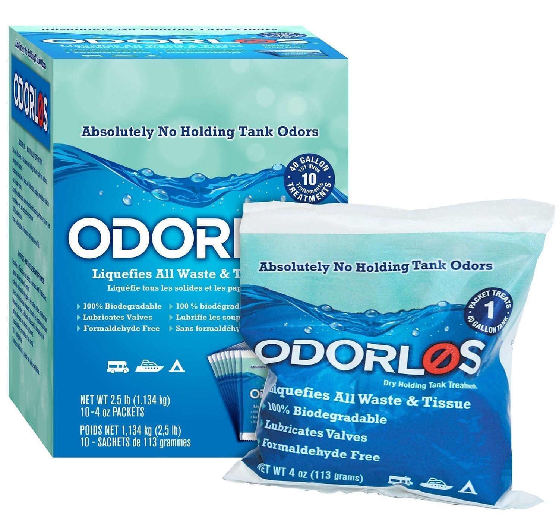 Odorlos Dry 4 Oz Packets 10 Per Box Valterra Com