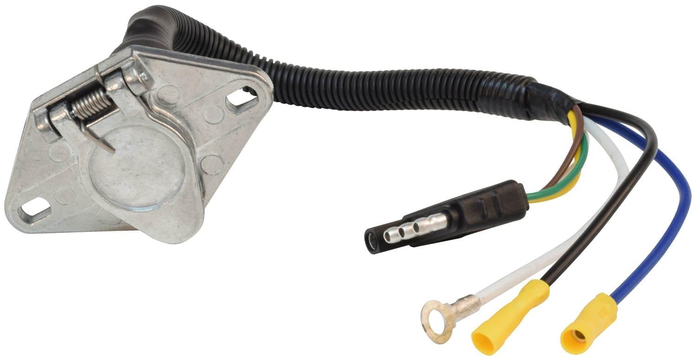 mighty cord 6 way to 4 way pre wire harness 12 quot bulk valterra valterra