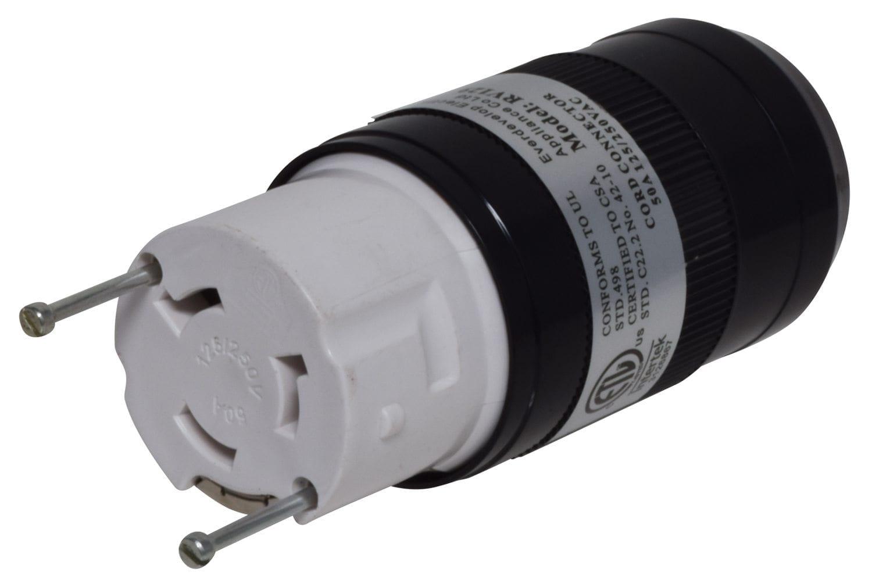 Mighty Cord 50a Detachable Connector W Female Twist Lock
