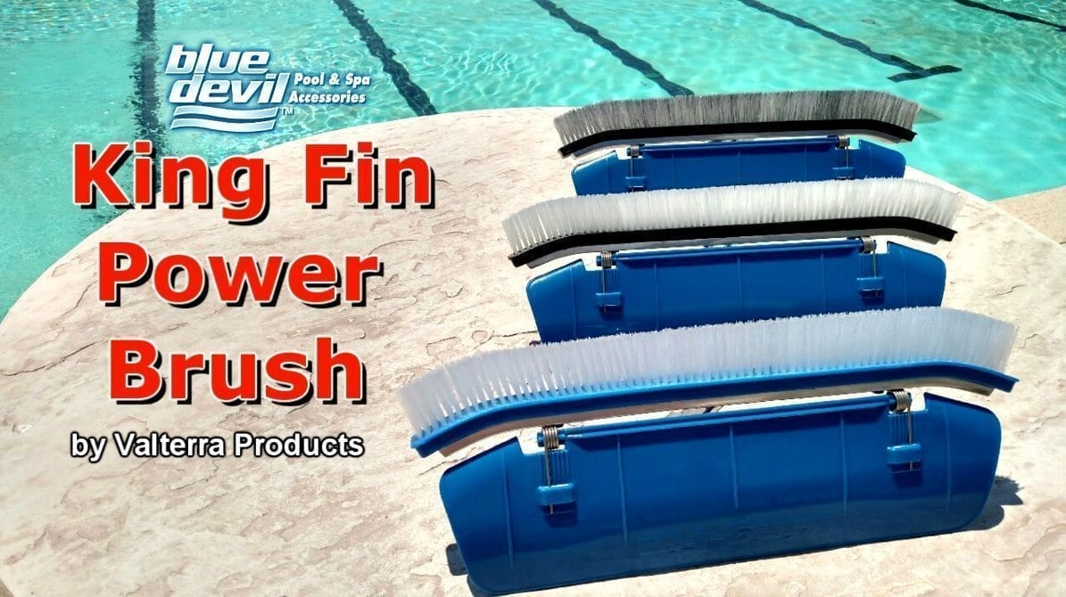 Blue Devil King-Fin Power Brush