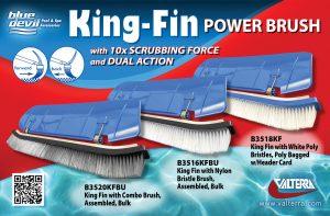 Blue Devil King-Fin Power Brush – Jan 2018