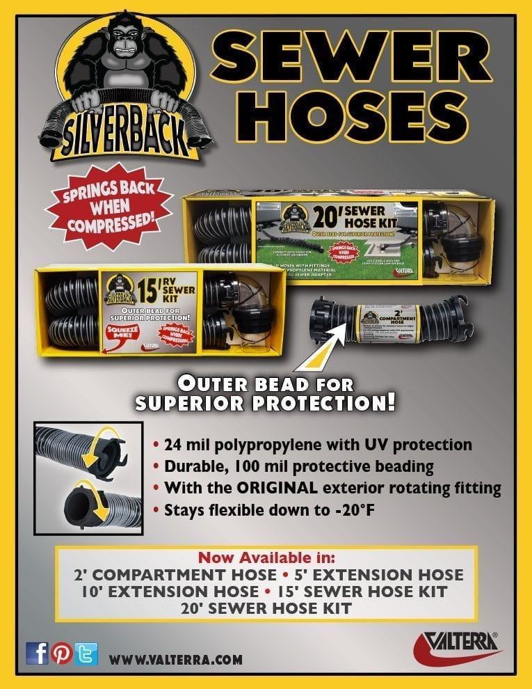 Silverback™ Sewer Hoses – Jan 2018
