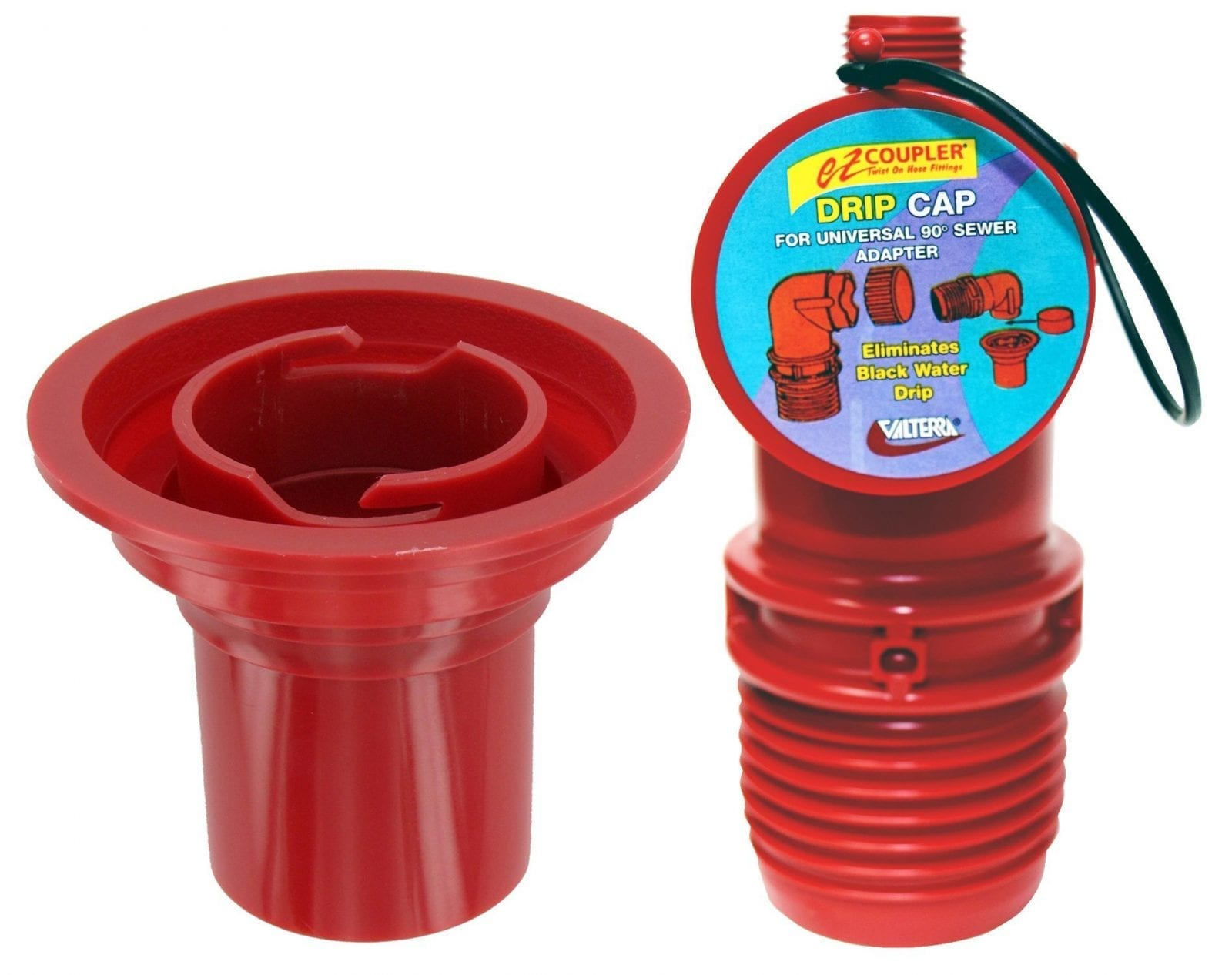 Ez Coupler Universal Sewer Adapter Red Carded Valterra