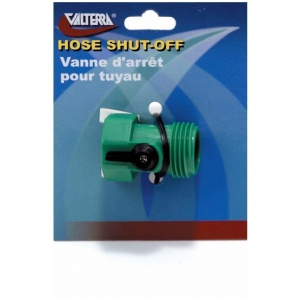 Hose Shut-Off, Single, Plastic, Carded