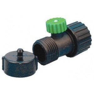 Hi-Flow Ball Valve W/Cap