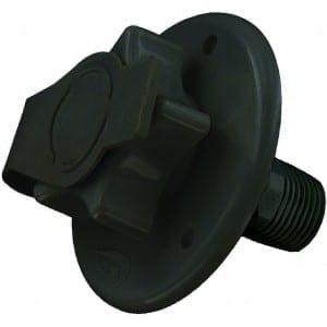 Water Inlet, 2-3/4″ Flange, MPT, Black, Bulk