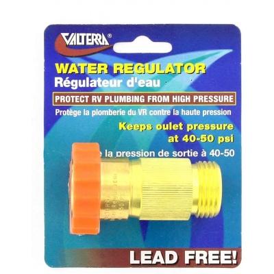 Water Regulator, Brass, Lead-Free, Carded