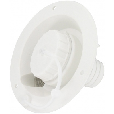 Gravity Water Inlet, White, Bulk