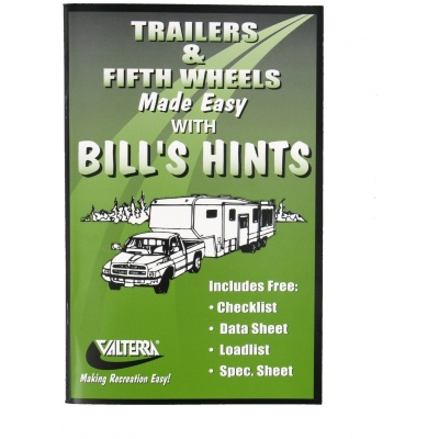 Trailers And Fifth Wheels Made Easy Booklet