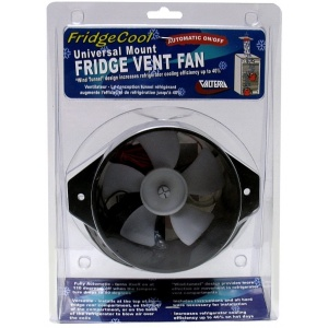 FridgeCool Exhaust Fan, 12-Volt, Carded