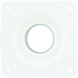 Battery Box Cone Vent, White, Bulk