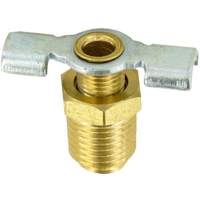 Water Heater Drain Valve, 1/4″, Carded