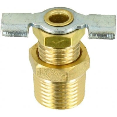 Water Heater Drain Valve, 3/8″, Carded