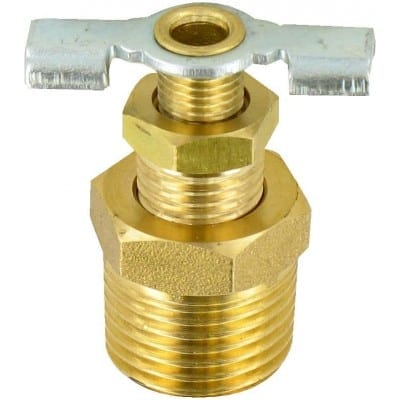 Water Heater Drain Valve, 1/2″, Carded