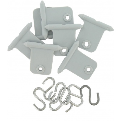 Awning Accessory Hangers, Gray, Carded