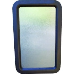Entrance Door Glass & Frame Assembly, 12″ x 21″, Boxed