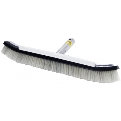 Algae Brush Combo, 18″, Stainless Steel And Nylon Bristles Combined, Metal Back W/Spoiler Fin