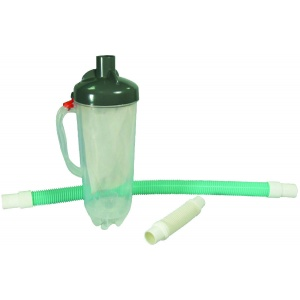Leaf Canister W/Mesh Bag