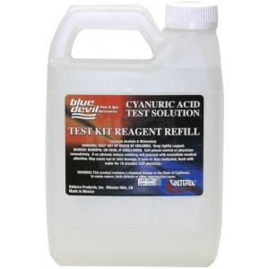 Cyanuric Acid Test, Quart (32 Oz) Bottle