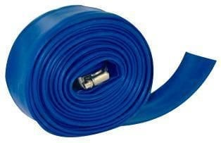 Backwash Hose, 1-1/2″ X 25′ W/Clamp, Shrink Wrapped