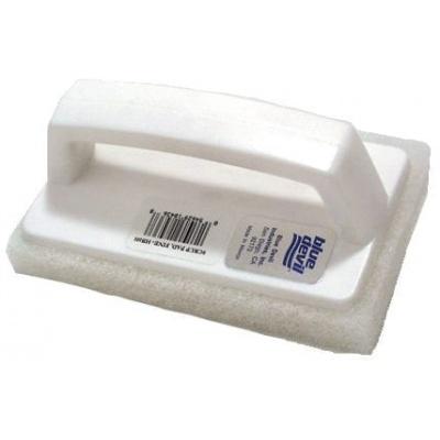 Scrub Pad W/Fixed Fine Grade Pad