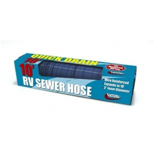 Quick Drain Hose, Standard, 10′, Blue, Boxed