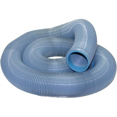 EZ Flush Super Heavy Duty Drain Hose, 20′, Slate Blue, Boxed