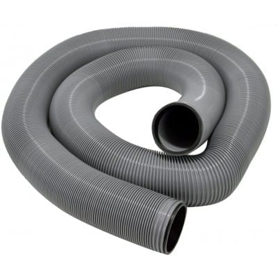 EZ Flush Triple Wrap Drain Hose, 20′, Silver, Boxed