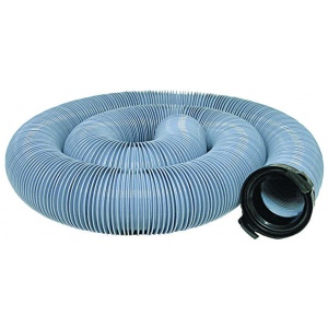 EZ Flush Super Heavy Duty Drain Hose, 20′, with T1024, Slate Blue, Bagged