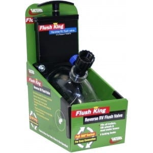 Flush King Reverse RV Flush Valve, Boxed