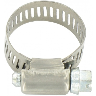 Hose Clamp #10, Stainless Steel, 1/2″ x 1-1/16″