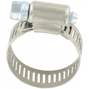 Hose Clamp #12, Stainless Steel, 1/2″ x 1-1/4″