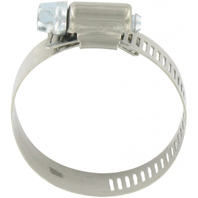 Hose Clamp #24, Stainless Steel, 1″ x 2″