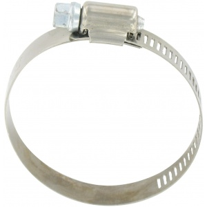 Hose Clamp #32, Stainless Steel, 1-1/2″ x 2-1/2″