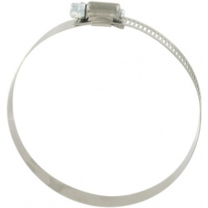 Hose Clamp #64, Stainless Steel, 2-1/2″ x 4-1/2″