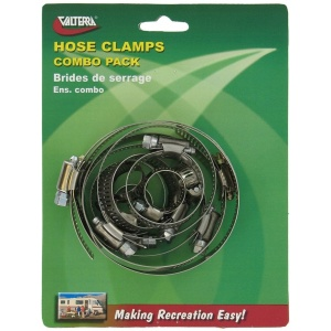 Hose Clamps Combo Pack, Carded