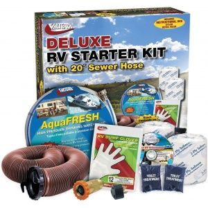RV Starter Kit, Deluxe, with DVD, Boxed